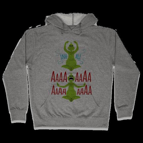 Grinch Yoga Hooded Sweatshirt