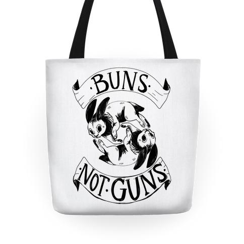 Buns Not Guns Tote