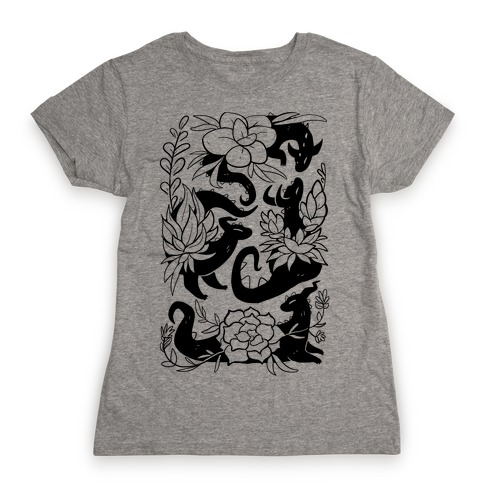 Succulent Dragons Womens T-Shirt
