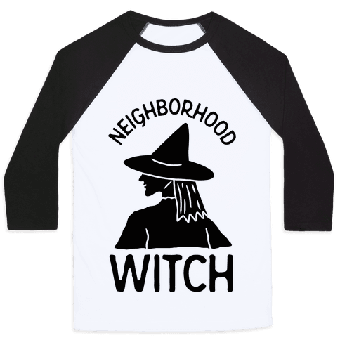 Neighborhood Witch Baseball Tee
