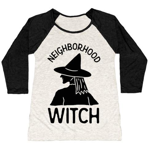 Neighborhood Witch Baseball Tee