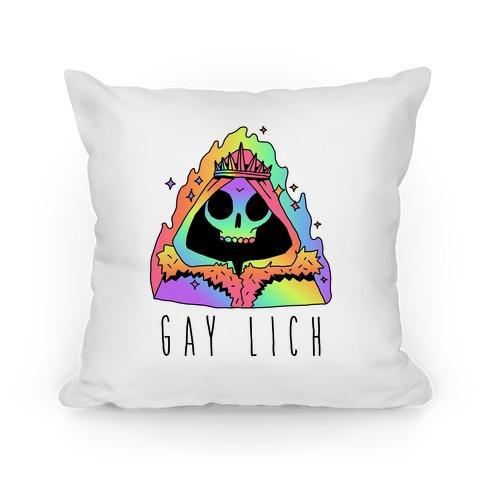 Gay Lich Pillow