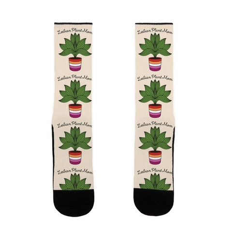 Lesbian Plant Mom Sock