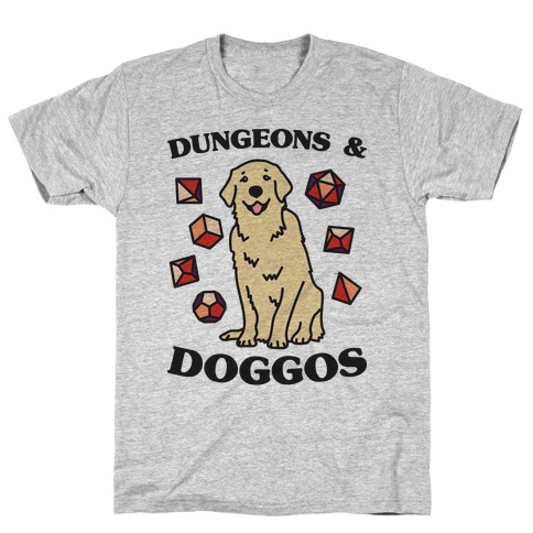 Dungeons & Doggos T-Shirt