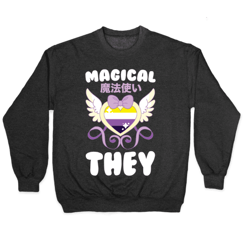 Magical They - Non-binary Pride Pullover