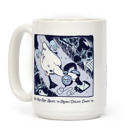 Lofi Hip Hop Goose Coffee Mug