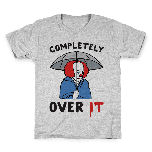 Completely Over It Parody Kids T-Shirt