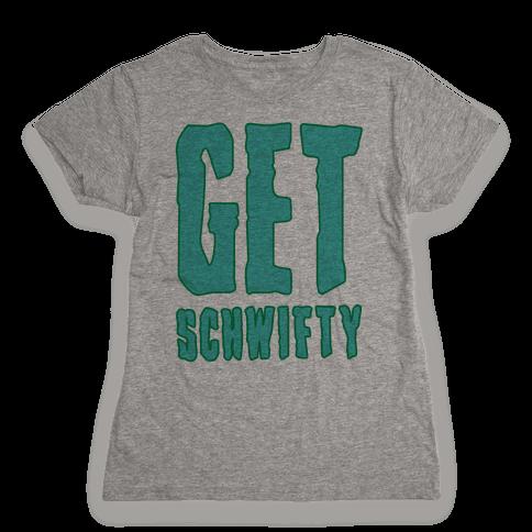 Get Schwifty Neon Womens T-Shirt
