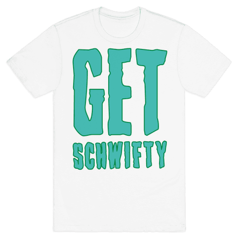 Get Schwifty Neon Mens T-Shirt