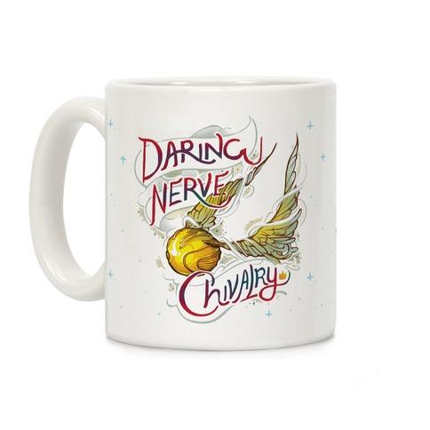 Daring Nerve Chivalry Coffee Mug