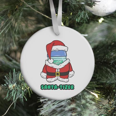Santa-tizer Ornament