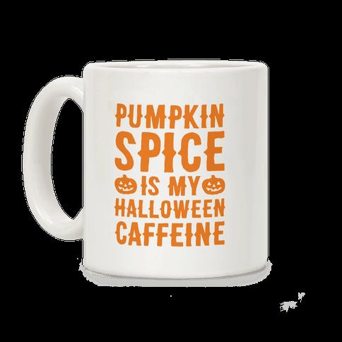 Halloween Caffeine  Coffee Mug