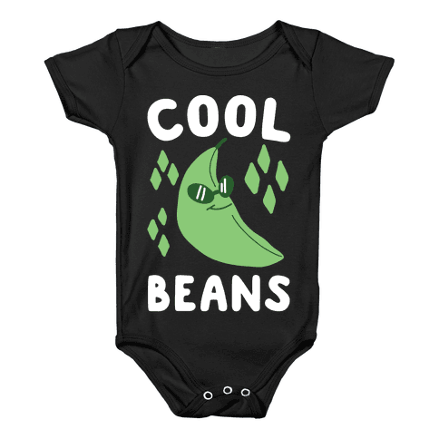 Cool Beans  Baby Onesy