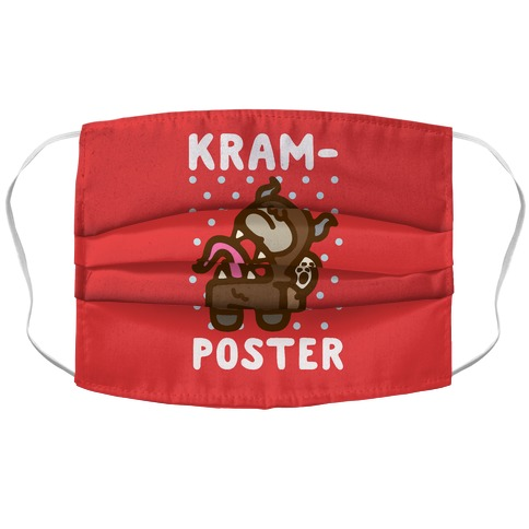 Kram-Poster Parody Accordion Face Mask