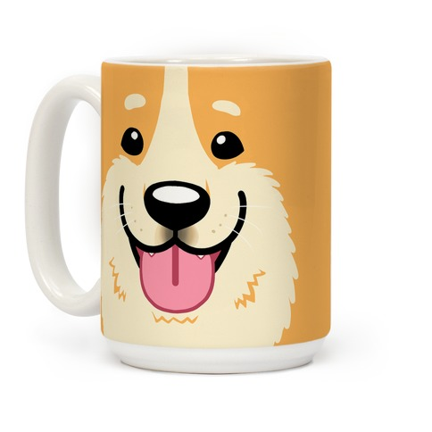 Corgi face Coffee Mug