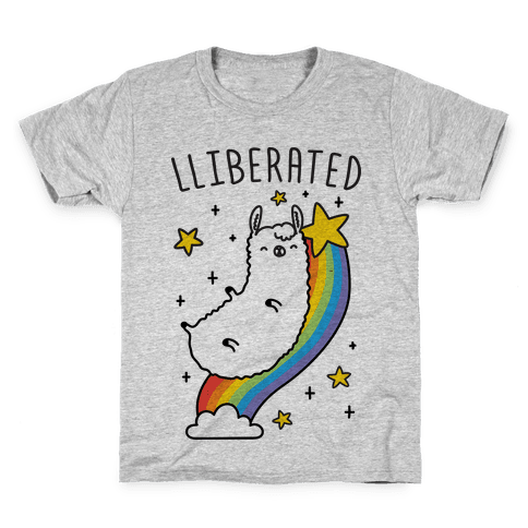 Liberated Llama Kids T-Shirt