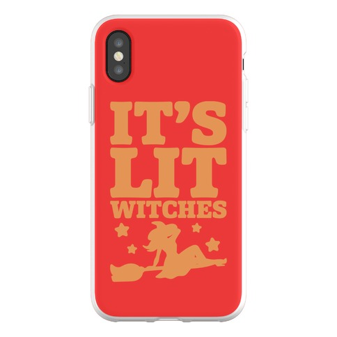 It's Lit Witches Phone Flexi-Case