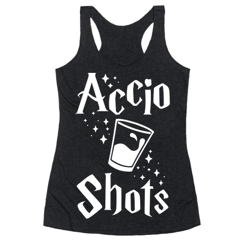 Accio Shots Racerback Tank Top