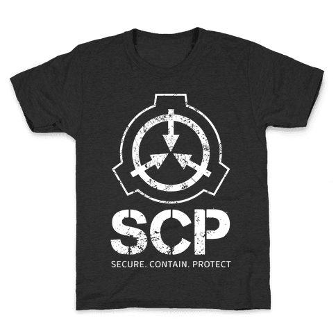 SCP Secure. Contain. Protect Kids T-Shirt