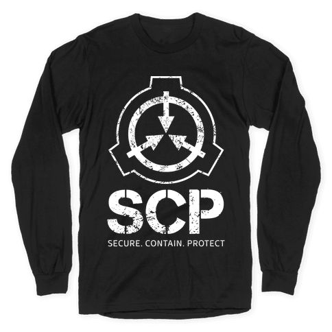 SCP Secure. Contain. Protect Long Sleeve T-Shirt