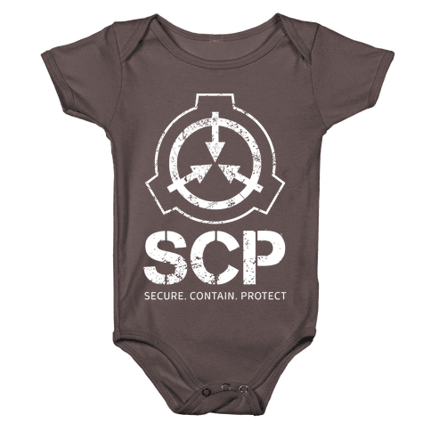 SCP Secure. Contain. Protect Baby One-Piece