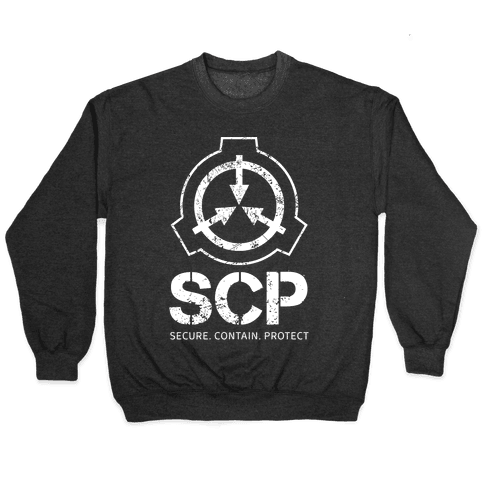 SCP Secure. Contain. Protect Pullover