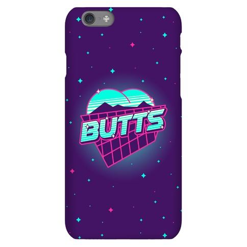 Retro Butts Phone Case