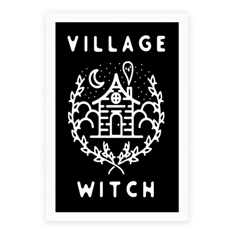 Village Witch Poster