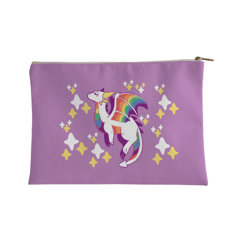 Gay Pride Dragon Accessory Bag