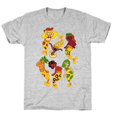 Pizza Mermaids T-Shirt