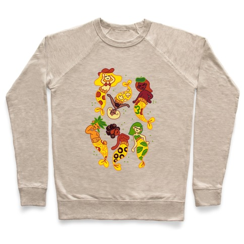 Pizza Mermaids Pullover