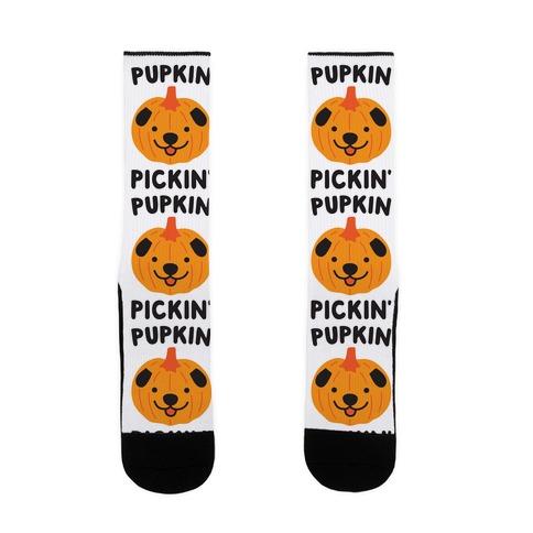 Pupkin Pickin' Sock