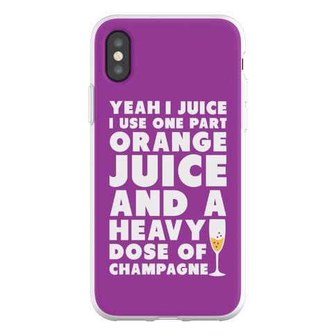 Yeah I Juice Phone Flexi-Case
