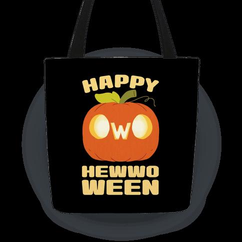 Happy Hewwoween OwO Tote