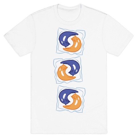 Tide Pod Cats Parody Mens T-Shirt