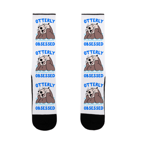 Otterly Obsessed Sock