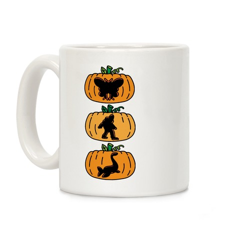Cryptid Carvings Coffee Mug