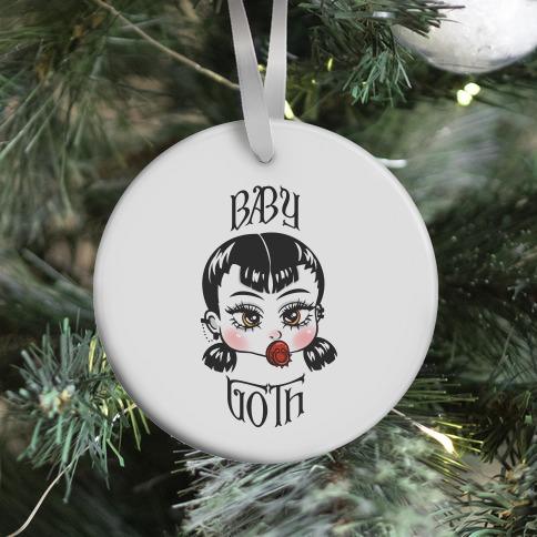 Baby Goth Ornament