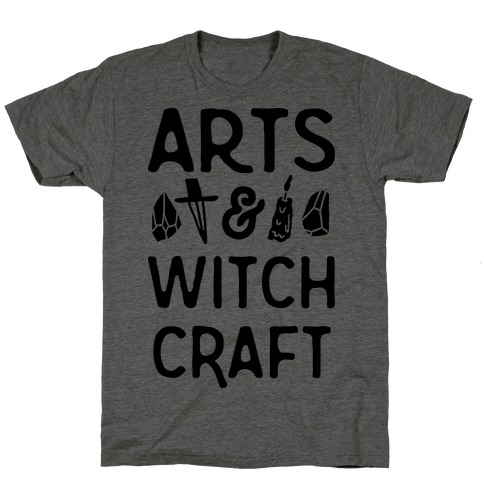 Arts And Witchcraft Mens/Unisex T-Shirt