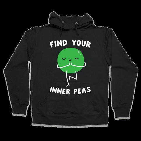 Find Your Inner Peas Hooded Sweatshirt