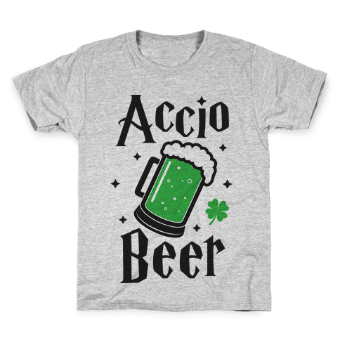 Accio Beer St. Patrick's Day Kids T-Shirt