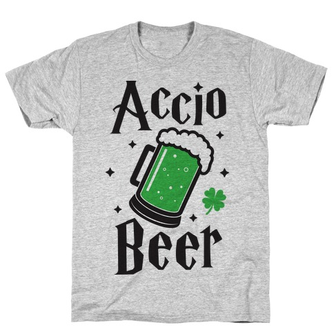 Accio Beer St. Patrick's Day Mens T-Shirt