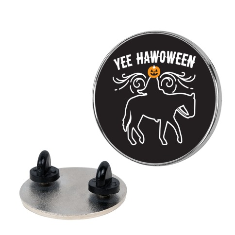 Yee Hawoween Pin