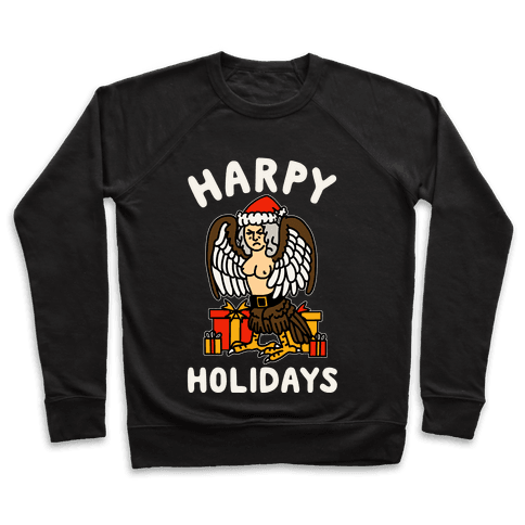 Harpy Holidays Pullover