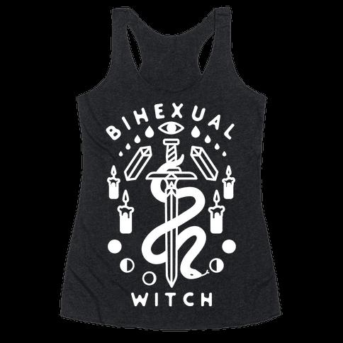 Bihexual Witch Racerback Tank Top