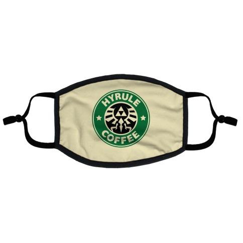 Hyrule Coffee Flat Face Mask