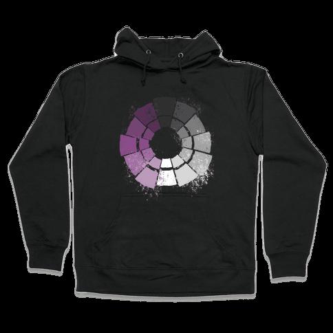Ace Pride Color Wheel Hooded Sweatshirt