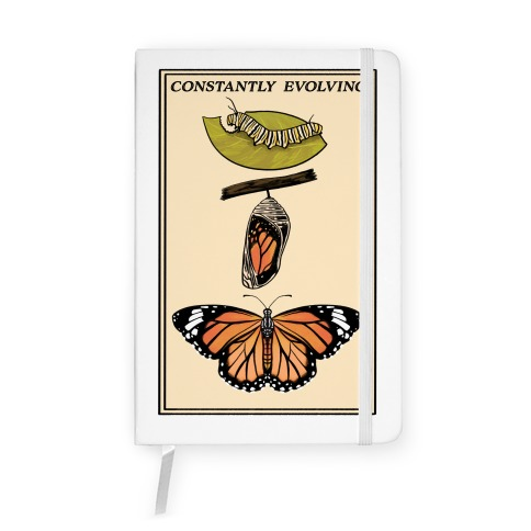 Constantly Evolving Monarch Butterfly Notebook