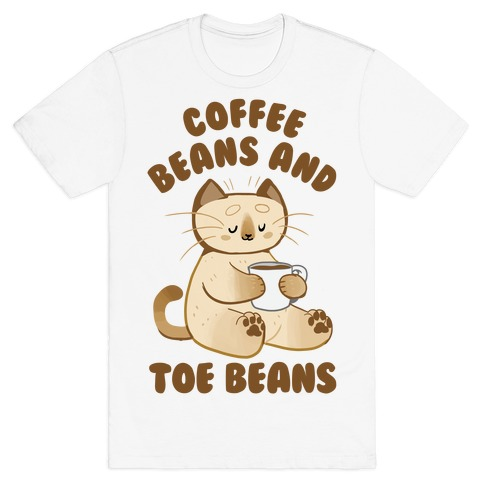Coffee Beans and Toe Beans Mens/Unisex T-Shirt