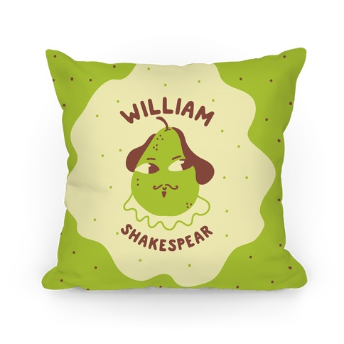 William ShakesPear Pillow